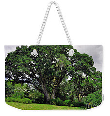 Tree By The River Weekender Tote Bag by Lydia Holly