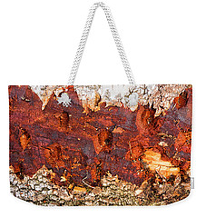 Tree Closeup - Wood Texture Weekender Tote Bag