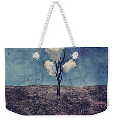 Weekender Tote Bag featuring the digital art Tree Clouds 01d2 by Aimelle