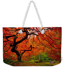 Tree Fire Weekender Tote Bag