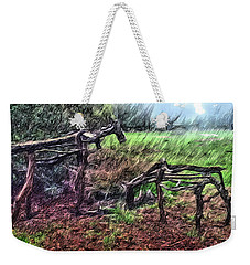 Tree Horse Weekender Tote Bag