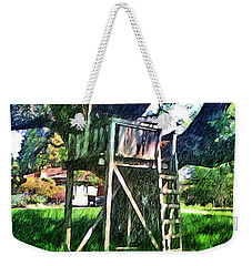 Tree House Weekender Tote Bag