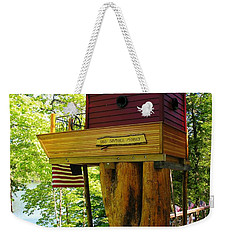 Tree House Boat Weekender Tote Bag