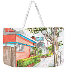 Tree In Laguna Riviera Hotel In Laguna Beach - California Weekender Tote Bag