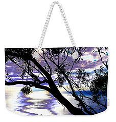 Tree In Silhouette Weekender Tote Bag
