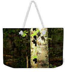 Tree In The Woods Weekender Tote Bag