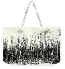 Tree Line Weekender Tote Bag