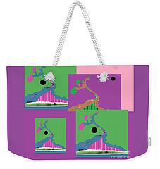 Weekender Tote Bag featuring the digital art Tree Of Hope 2 by Ann Calvo