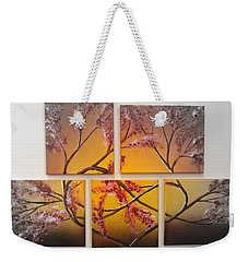 Tree Of Infinite Love Spotlighted Weekender Tote Bag