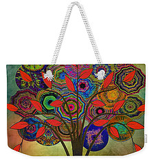 Tree Of Life 2. Version Weekender Tote Bag by Klara Acel