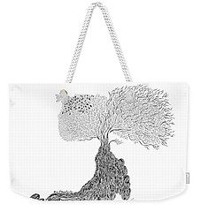 Tree Of Uncertainty Weekender Tote Bag