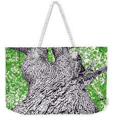 Tree Pen Drawing 4 Weekender Tote Bag