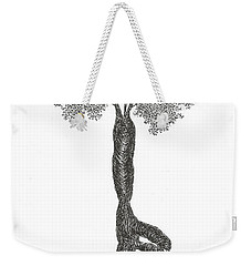 Tree Pose Weekender Tote Bag