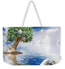 Tree Seagull And Sea Weekender Tote Bag