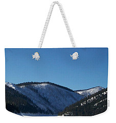 Tree Shadows Weekender Tote Bag