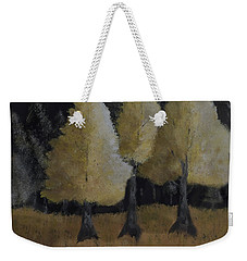 Tree Trio Weekender Tote Bag by Dick Bourgault