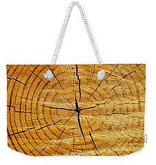 Tree Trunk Weekender Tote Bag by Fabrizio Troiani
