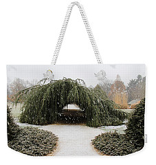 Tree Tunnel Weekender Tote Bag by Karen Silvestri