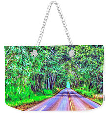 Tree Tunnel Kauai Weekender Tote Bag