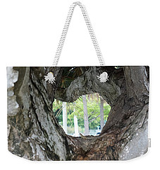 Weekender Tote Bag featuring the photograph Tree View by Rafael Salazar