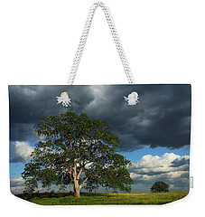 Tree With Storm Clouds Weekender Tote Bag