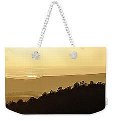 Weekender Tote Bag featuring the photograph Treeline by AJ  Schibig