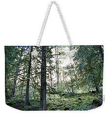 Weekender Tote Bag featuring the photograph Treequility by Athena Mckinzie