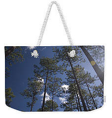 Weekender Tote Bag featuring the photograph Trees And Nature by Charles Beeler
