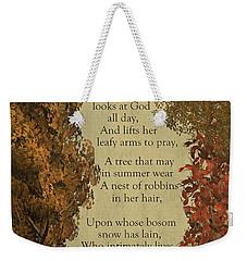 Trees Weekender Tote Bag by David Dehner