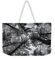 Trees In Winter Weekender Tote Bag