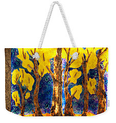 Trees Inside A Window Weekender Tote Bag