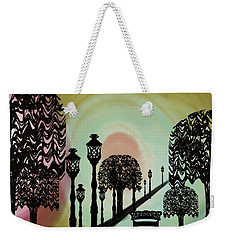 Trees Of Lights Weekender Tote Bag