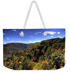 Trees Over Rolling Hills Weekender Tote Bag by Jonny D