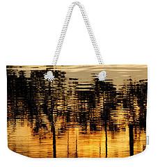 Trees Reflected Weekender Tote Bag