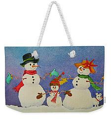 Tres Chic Weekender Tote Bag by Mary Ellen Mueller Legault