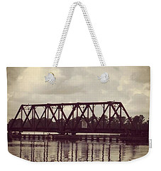 Trestle On The Pamlico River Weekender Tote Bag