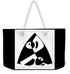 Triangle Weekender Tote Bag