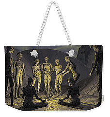 Tribe Weekender Tote Bag by John Alexander