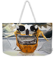 Tribulation Weekender Tote Bag by Lazaro Hurtado