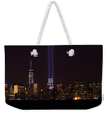 Tribute In Light 9.11 Weekender Tote Bag