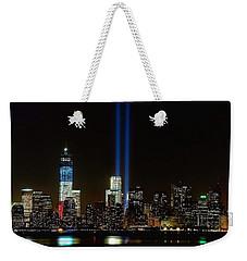Tribute In Light From Bayonne Weekender Tote Bag
