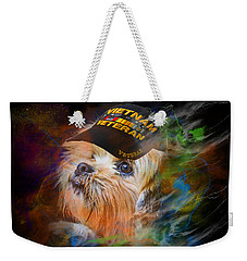 Tribute To Canine Veterans Weekender Tote Bag