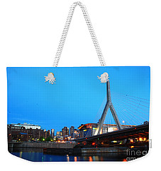 Tribute To Mr Zakim Weekender Tote Bag