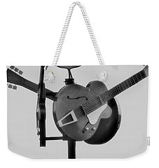 Tribute To The Blues At The Crossroads Weekender Tote Bag by Dan Sproul