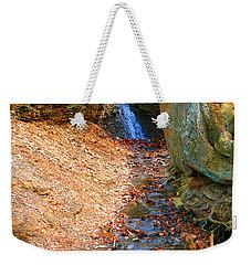 Trickling Waterfall By Shellhammer Weekender Tote Bag