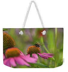 Weekender Tote Bag featuring the photograph Tricky Terrain by Arthur Fix