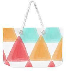 Trifold- Colorful Abstract Pattern Painting Weekender Tote Bag