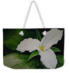 Trillium Weekender Tote Bag