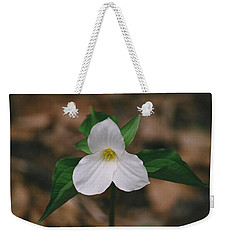 Trillium Weekender Tote Bag by David Porteus