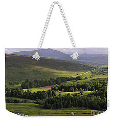 Summer In The Hills Of Perthshire  Weekender Tote Bag by Phil Banks